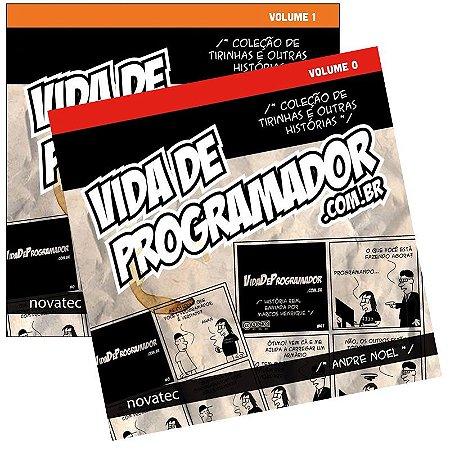 Coleção Livro Vida de Programador - Volume 0 e 1 - com FRETE GRÁTIS