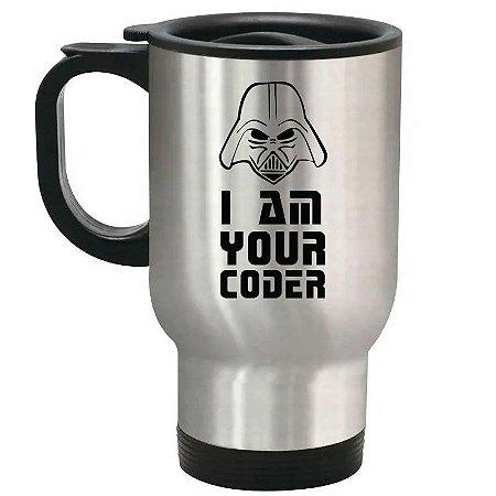 Caneca Térmica I Am Your Coder