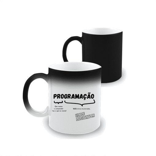 Caneca Mágica Programação