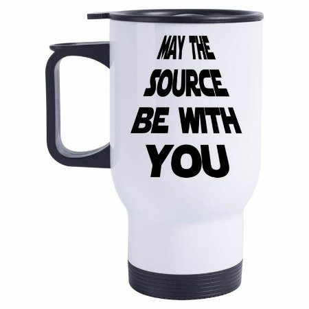 Caneca Térmica May the source be with you