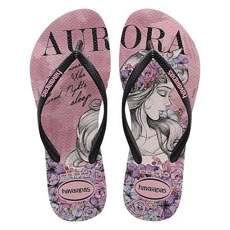 37a017a86 Havaianas Slim Princesas Aurora - Bela Adormecida - Ref. 4135045 ...
