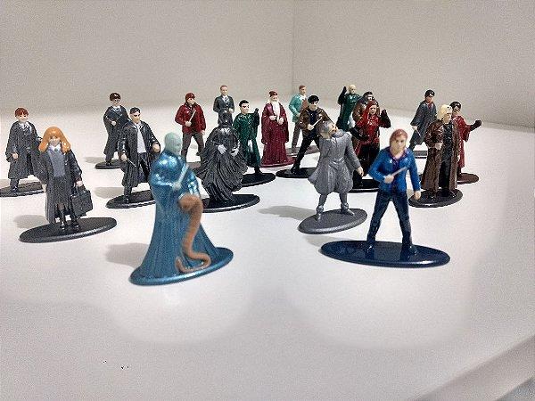 Harry Potter 20 Personagens para Coleção - METAL DIE CAST 4cm