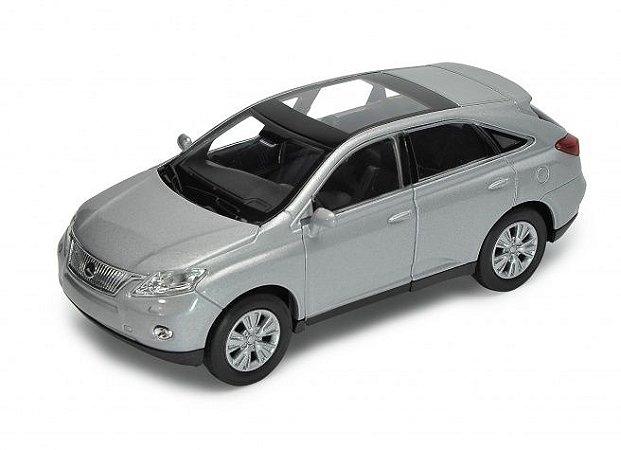 Carro Miniatura - Lexus RX 450 H - 1:39 - Welly - Em Metal