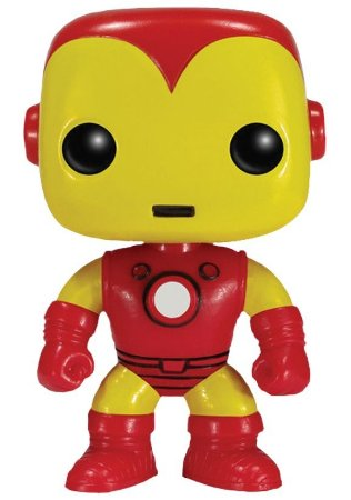 Boneco Miniatura - Homem de Ferro - Marvel - POP - Funko
