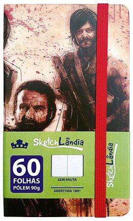 Sketchbook The Walking Dead