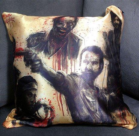 Almofada Decorativa 30x30cm - The Walking Dead