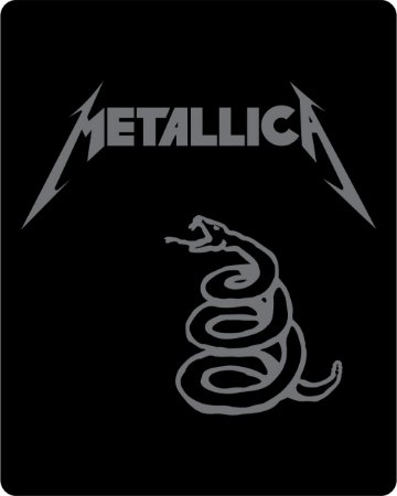 Camiseta Metallica Black Album