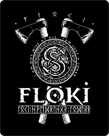 Camiseta Vikings - Floki