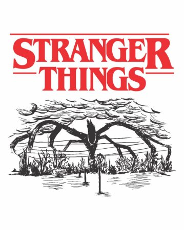 Camiseta Stranger Things - O Devorador de Mentes