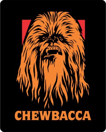 Camiseta Chewbacca - Star Wars