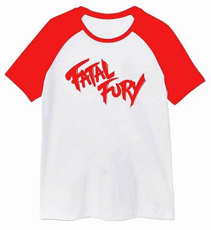 Camiseta Raglan Fatal Fury