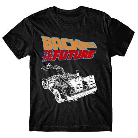 Camiseta De Volta para o Futuro