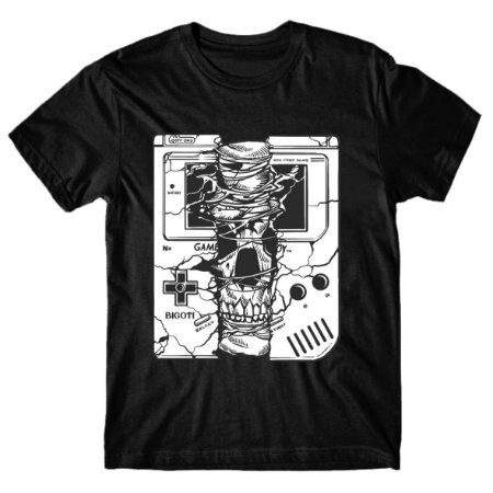 Camiseta Gameboy Skull