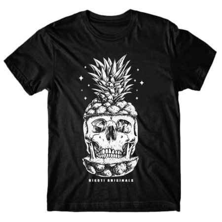 Camiseta Skull Pineapple