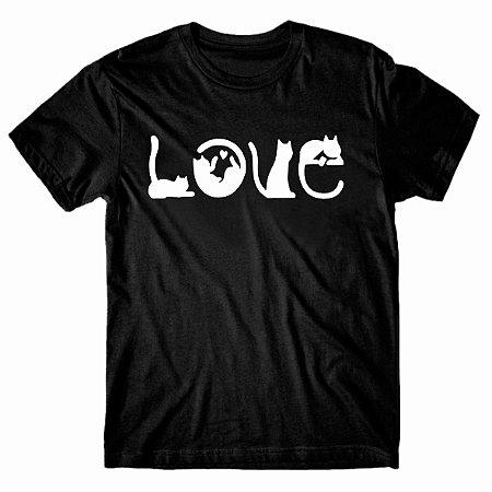 Camiseta Love Cat