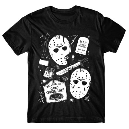 Camiseta Sexta-Feira 13