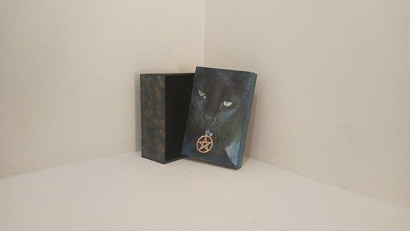 Caixa de Gato (Porta Tarô)