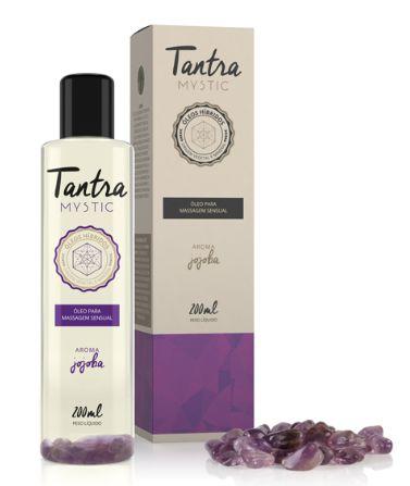 Óleo para Massagem Sensual Tantra Mystic Jojoba - 200ml