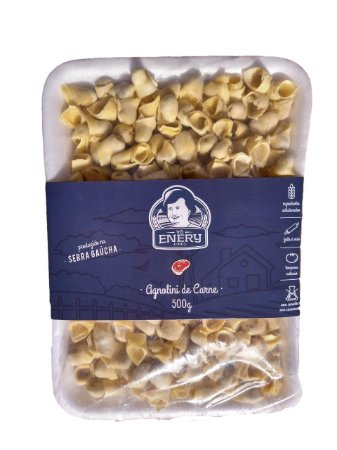 Agnolini (Capeletti) de Carne 500g - Vó Enery
