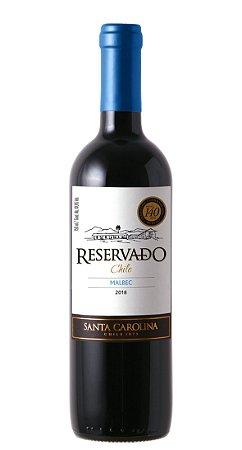 Vinho Santa Carolina Reservado Malbec 750ml