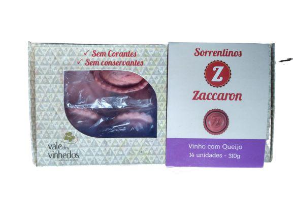 Sorrentino Zaccaron Vinho e Queijo 310g