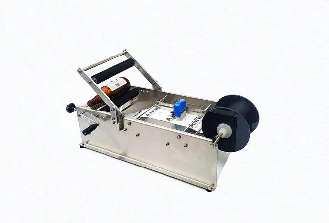 Rotuladora manual com datador e massageador