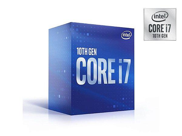 Processador Core I7 Lga 1200 Intel - 10ª Geração