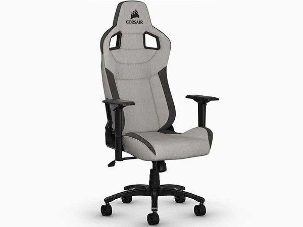Cadeira Gamer Corsair Rush Cinza e Preta
