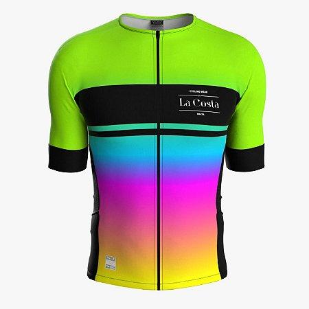 Camisa de Ciclismo Feminina - La Costa