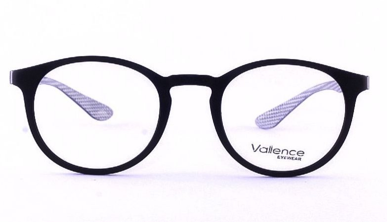 Óculos de Grau Vallence  - Preto