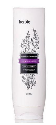 Condicionador Natural Lavanda e Verbena Branca 250ml   Herbia