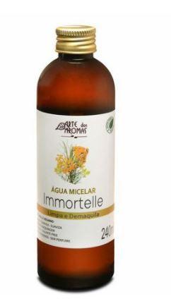 Água Micelar Immortelle 240ml | Arte dos Aromas