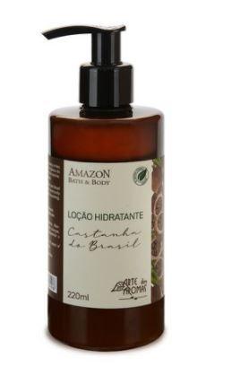 Loção Hidratante Castanha do Brasil 220ml   Arte dos Aromas