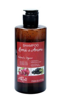 Shampoo Romã e Amora 250ml   Arte dos Aromas