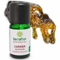 Óleo Essencial de Copaíba Destilada 10ml   Terra Flor