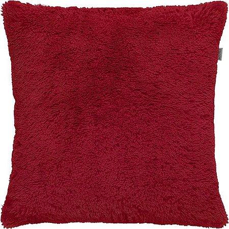 Capa Para Almofada Baby Soft Vermelha