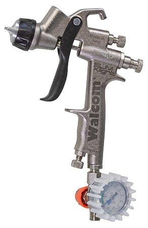 Pistola de pintura X-light hvlp 1.3mm (maleta completa com manômetro) Walcom