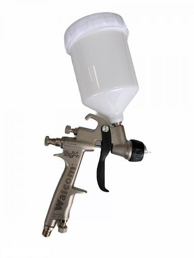 Pistola X-light hte 1.3mm na maleta Walcom (modelo novo)