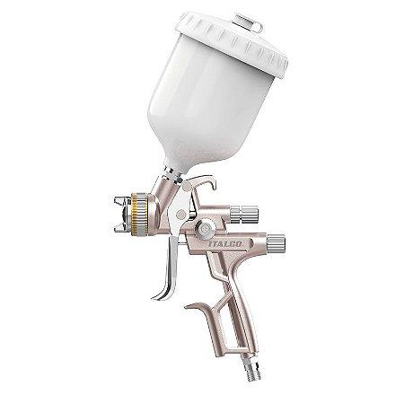 Pistola de Pintura Gloss 1 lvmp 1.4 Italco (com caneca)