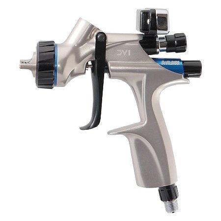 Pistola de Pintura DV1 Basecoat 1.3mm com manômetro digital (com caneca) Devilbiss