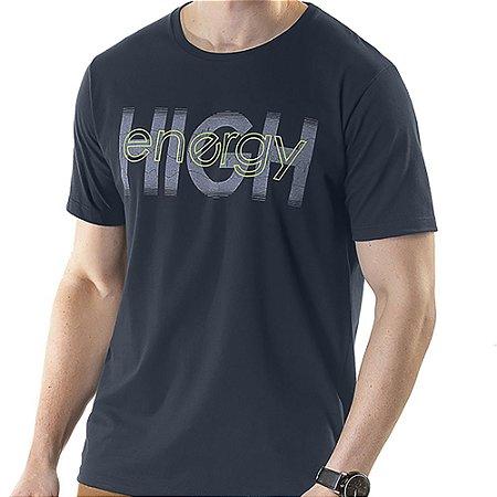 Camiseta Estampa High TZE Marinho