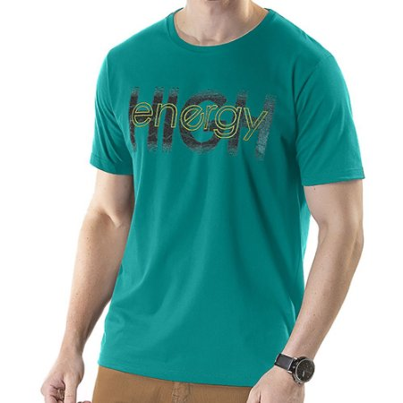 Camiseta Estampa High TZE Verde