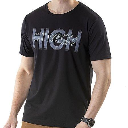 Camiseta Estampa High TZE Preta
