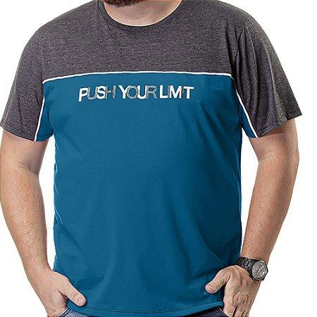 Camiseta Recorte Plus TZE Azul