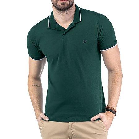 Camisa Polo Bordado TZE Verde