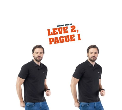Camisa Polo Piquet Bordado TZE - Leve 2, Pague 1
