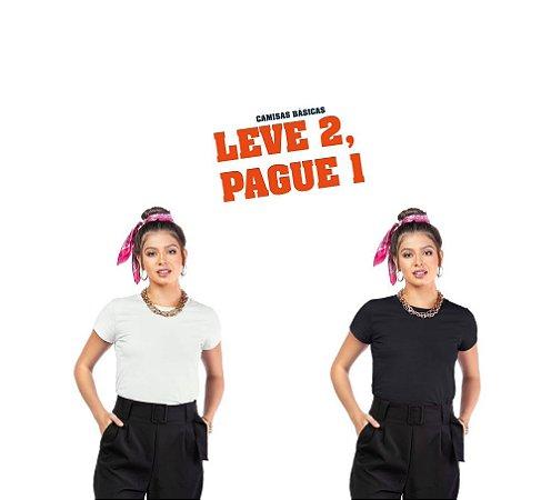 Blusa c/ Plaquinha Oui.la.vie - Leve 2, Pague 1