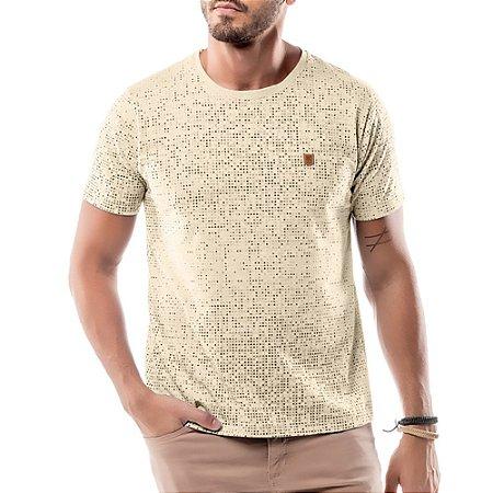 Camiseta Full Print No Stress Amarela