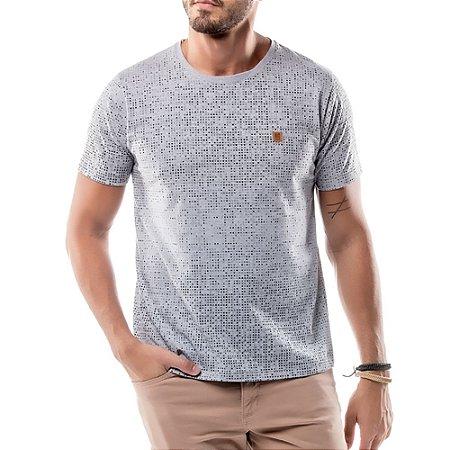 Camiseta Full Print No Stress Mescla