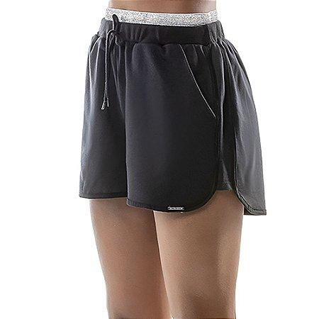 Shorts Detalhe Brilho Cós Oui.la.vie Preto